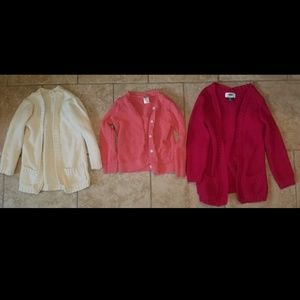 4T cardigans, 3 items total